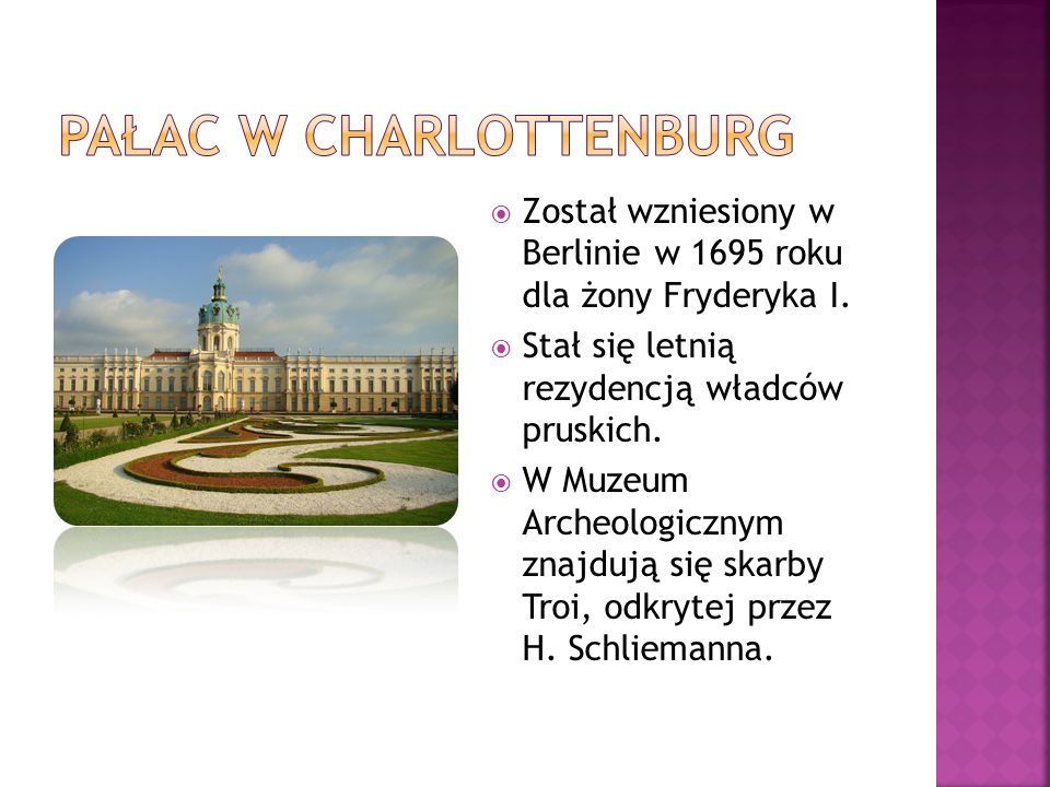Pałac w Charlottenburg