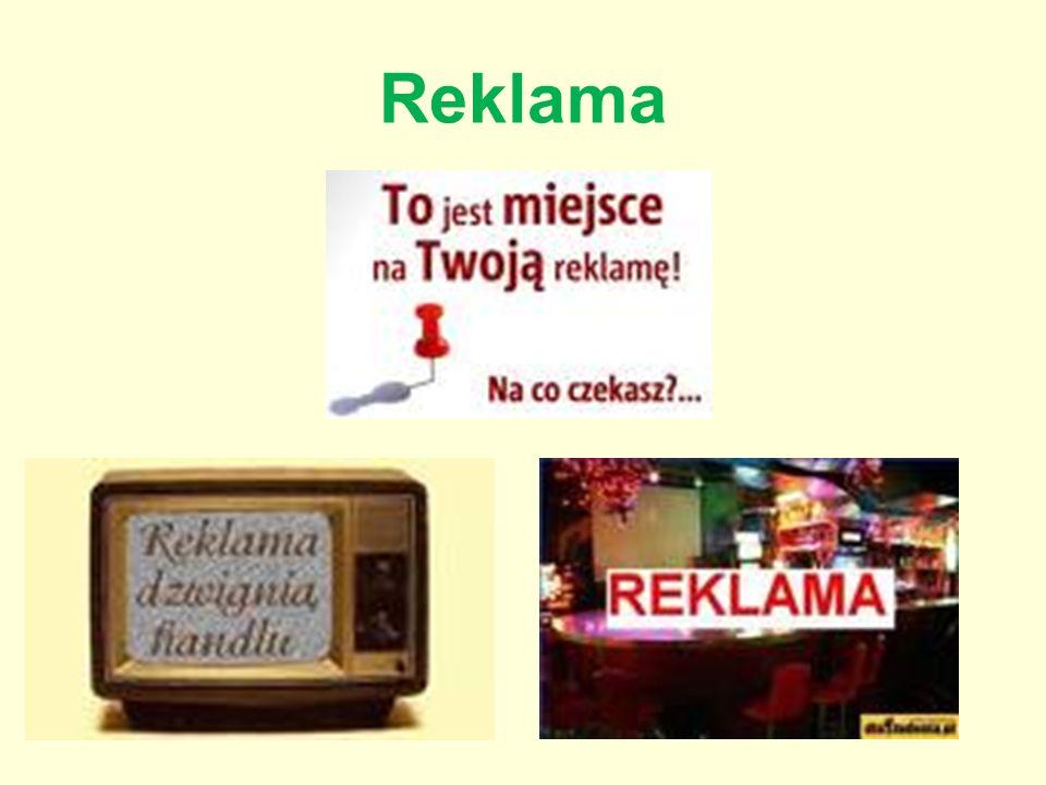 Reklama Reklama