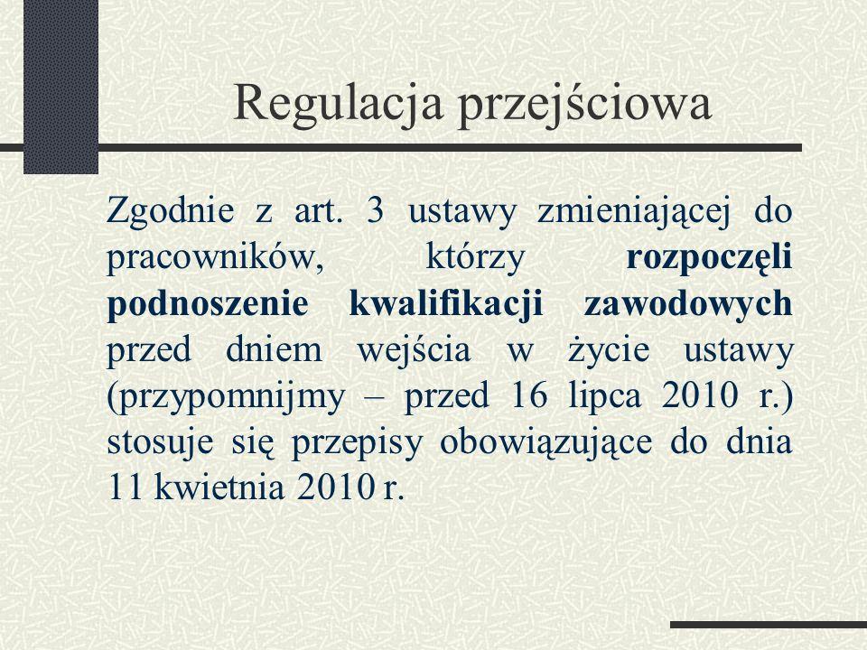 Regulacja przejściowa