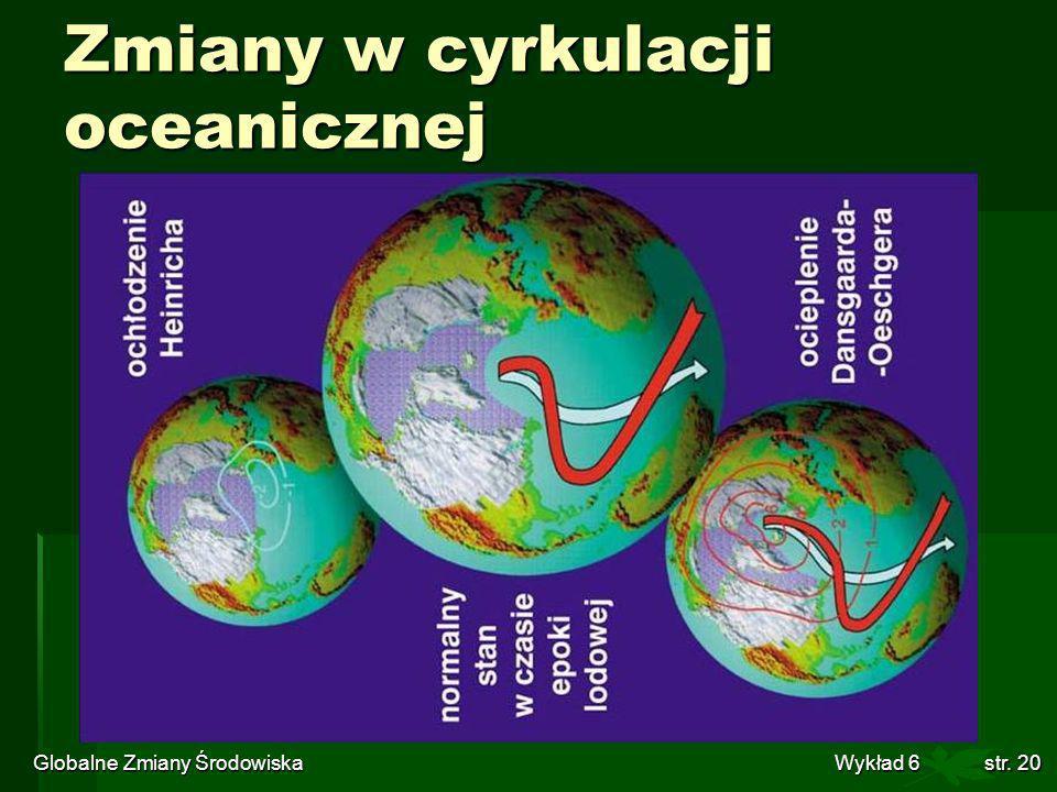 Zmiany w cyrkulacji oceanicznej