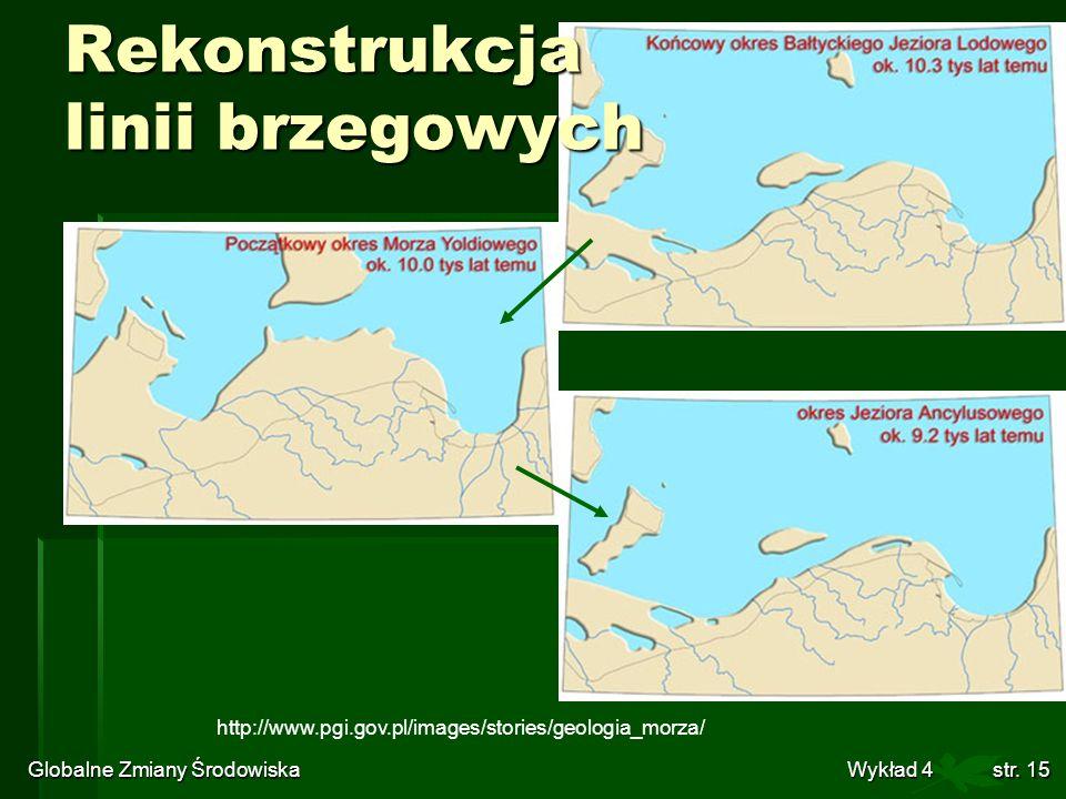 Rekonstrukcja linii brzegowych