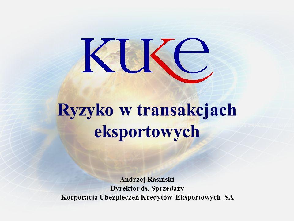 Ryzyko w transakcjach eksportowych