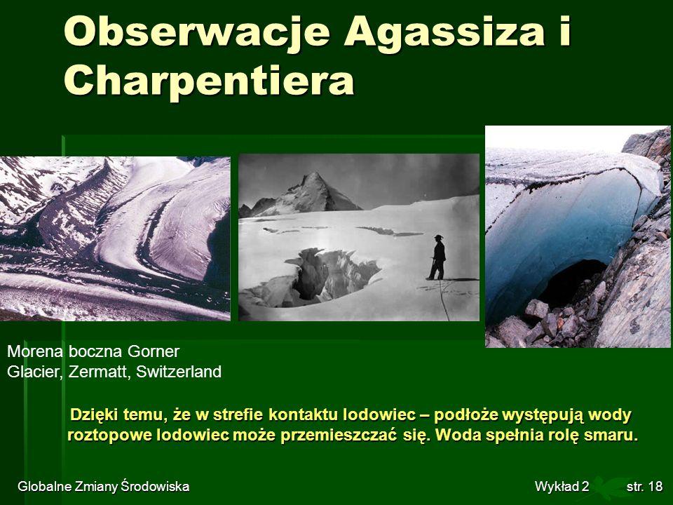 Obserwacje Agassiza i Charpentiera