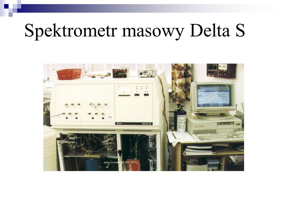 Spektrometr masowy Delta S