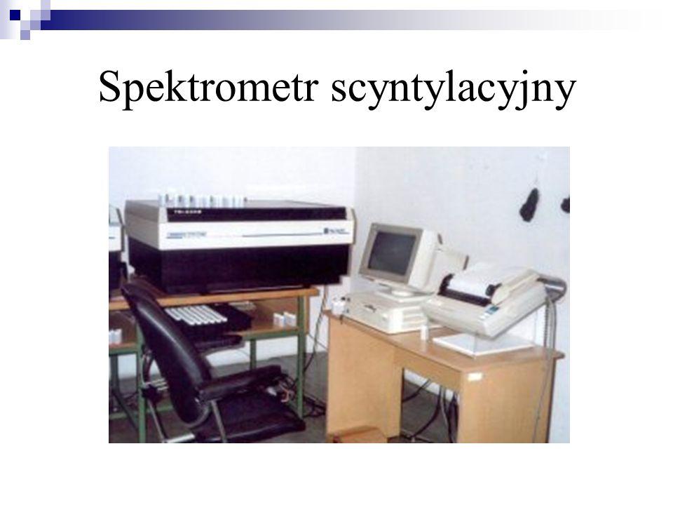 Spektrometr scyntylacyjny
