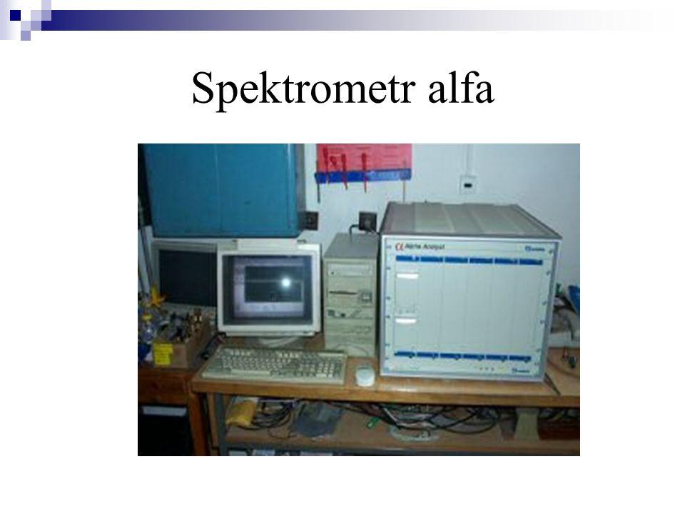 Spektrometr alfa