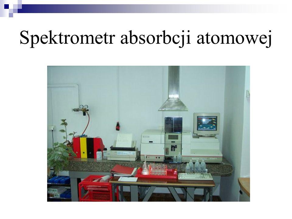 Spektrometr absorbcji atomowej
