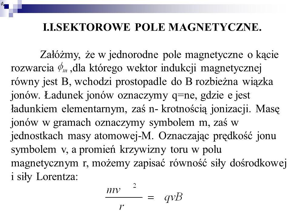 I.I.SEKTOROWE POLE MAGNETYCZNE.