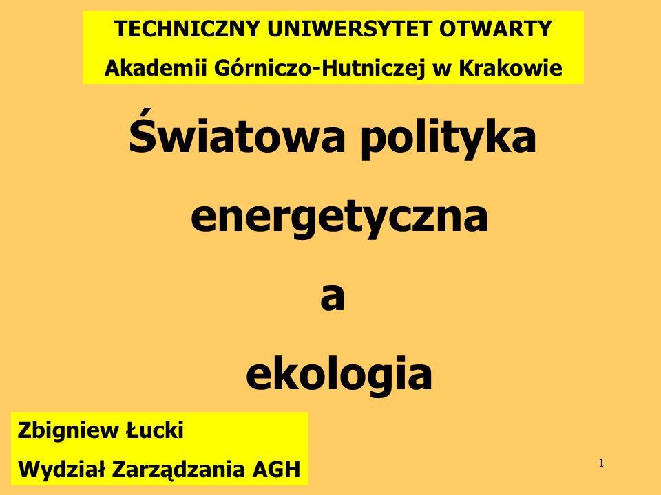 TECHNICZNY UNIWERSYTET OTWARTY Akademii Górniczo-Hutniczej w Krakowie