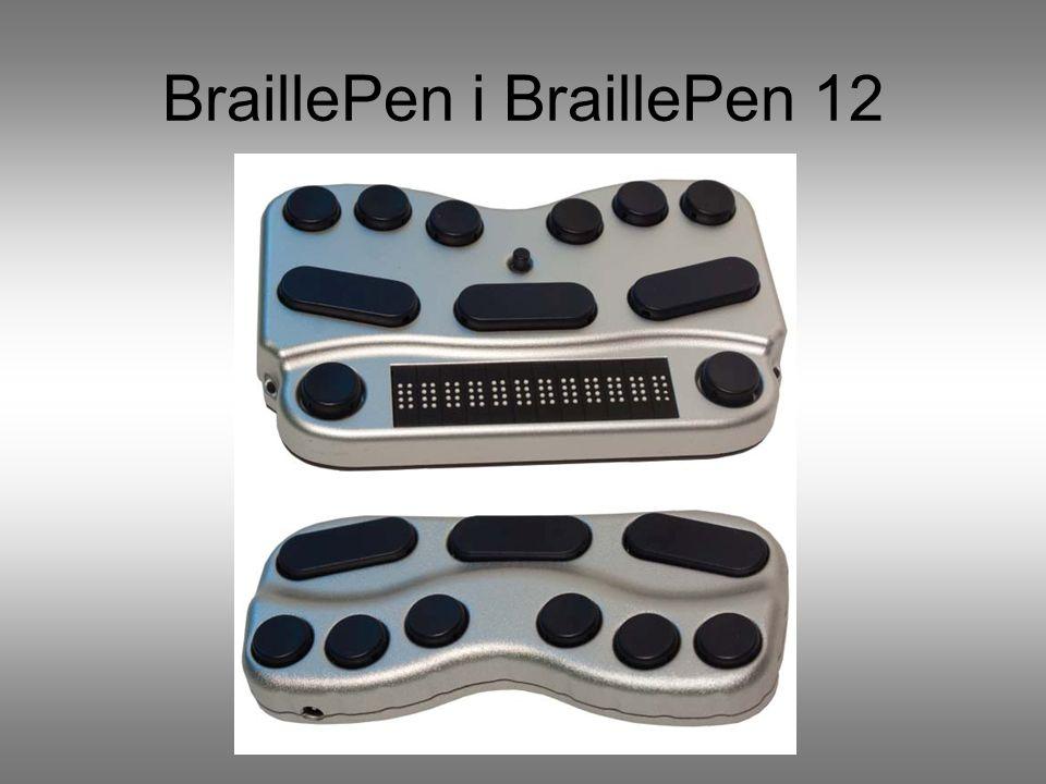 BraillePen i BraillePen 12