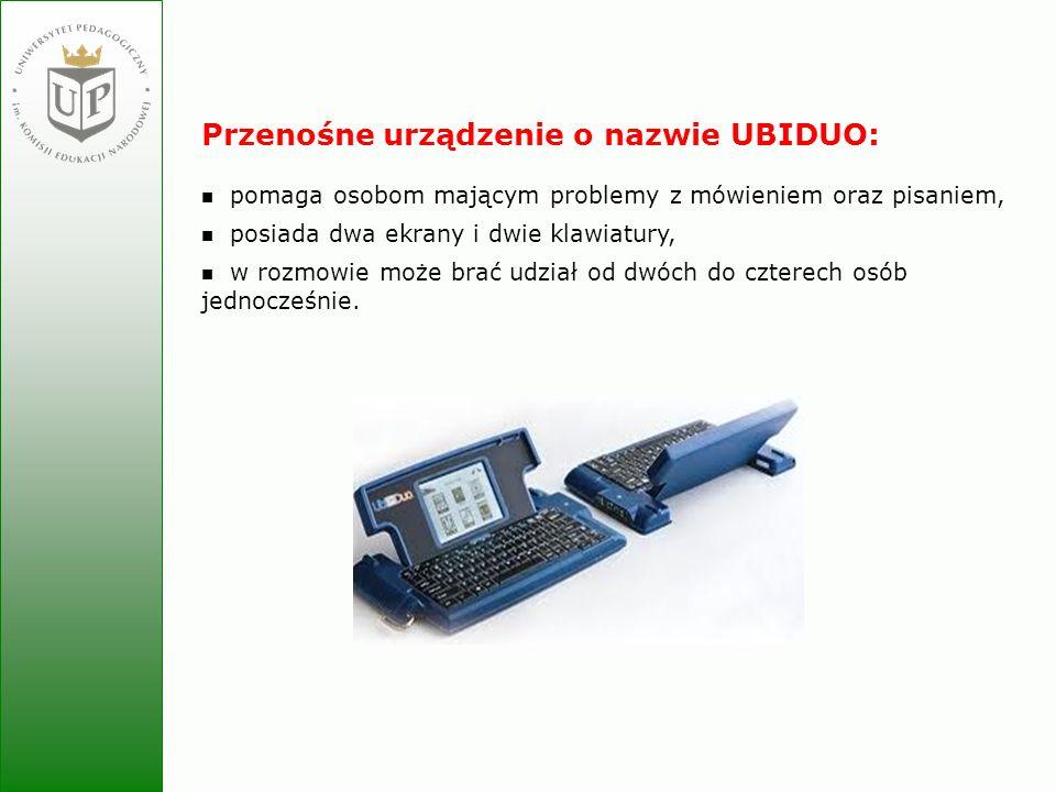 Przenośne urządzenie o nazwie UBIDUO: