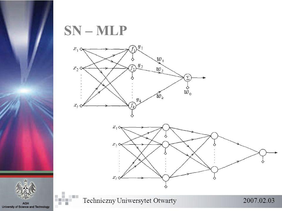 SN – MLP Techniczny Uniwersytet Otwarty 2007.02.03