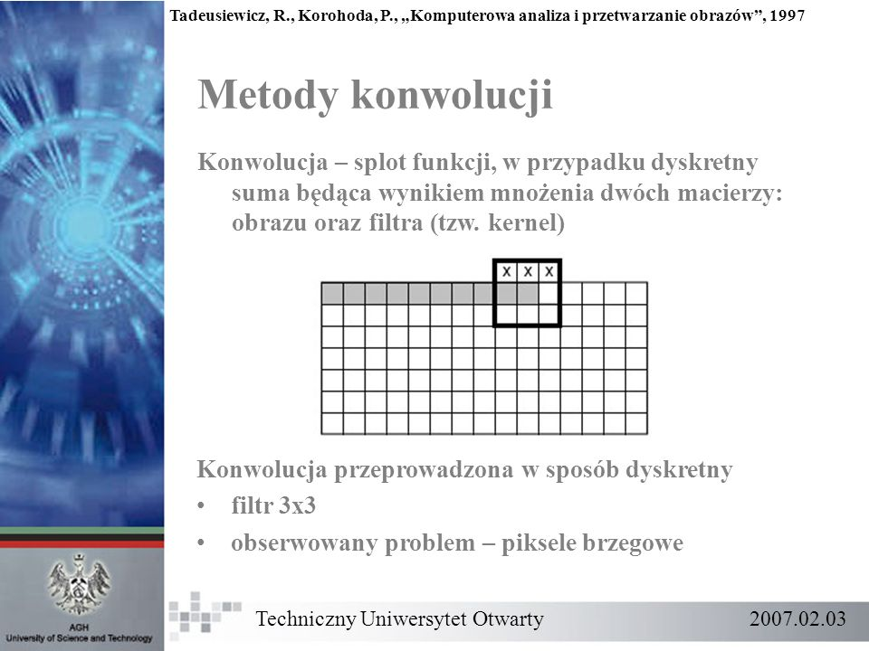 Tadeusiewicz, R. , Korohoda, P