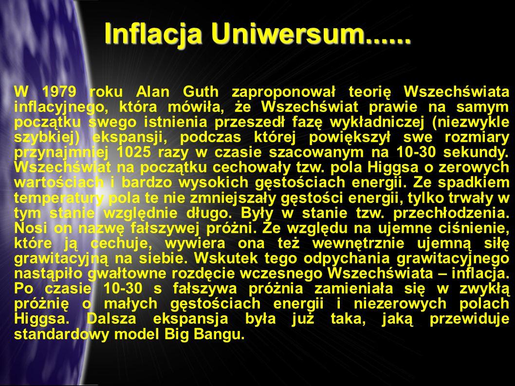 Inflacja Uniwersum......