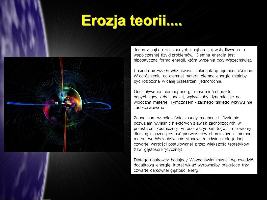 Erozja teorii....
