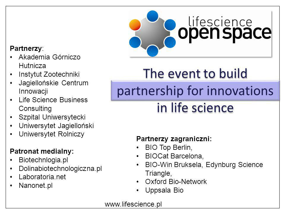 The event to build partnership for innovations in life science