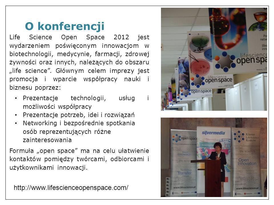 O konferencji http://www.lifescienceopenspace.com/