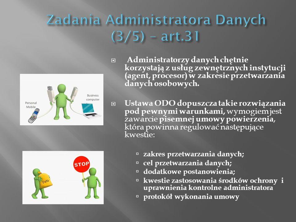Zadania Administratora Danych (3/5) – art.31