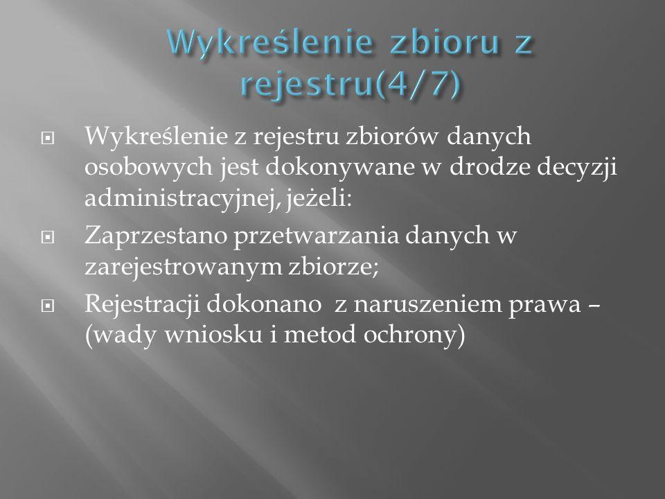 Wykreślenie zbioru z rejestru(4/7)