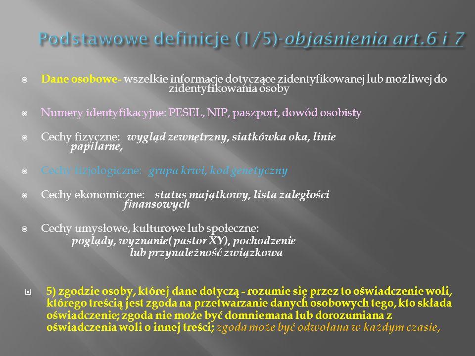 Podstawowe definicje (1/5)-objaśnienia art.6 i 7