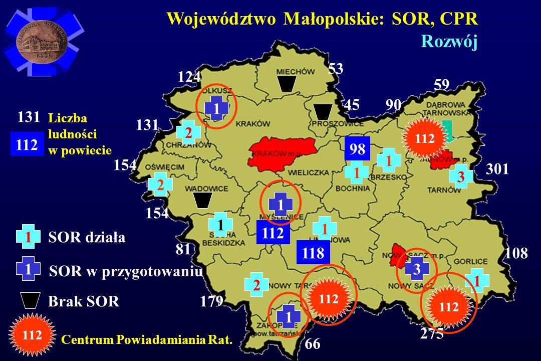 Województwo Małopolskie: SOR, CPR Rozwój