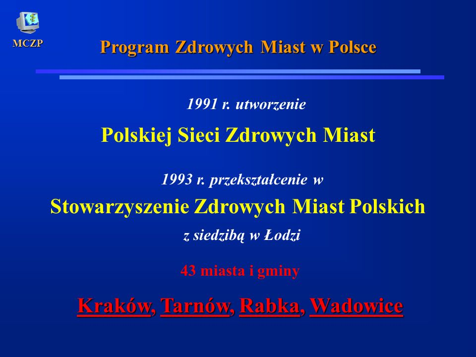 Polskiej Sieci Zdrowych Miast