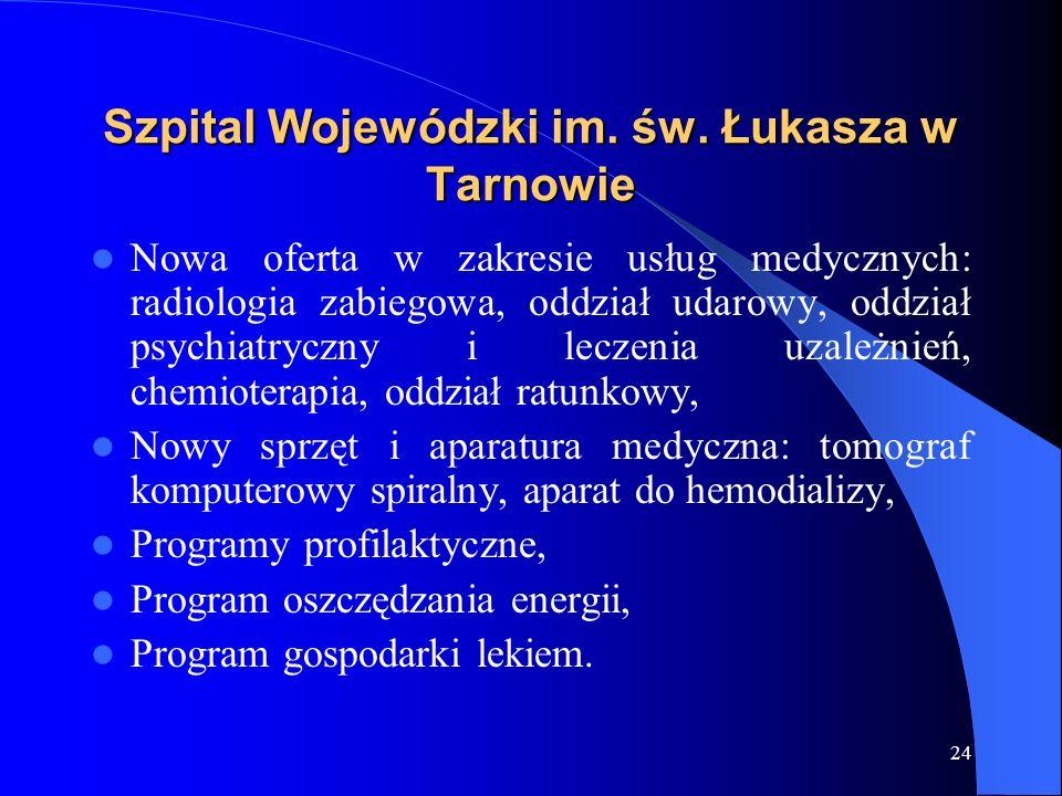 Szpital Wojewódzki im. św. Łukasza w Tarnowie