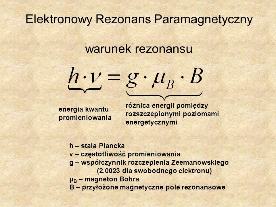 Elektronowy Rezonans Paramagnetyczny