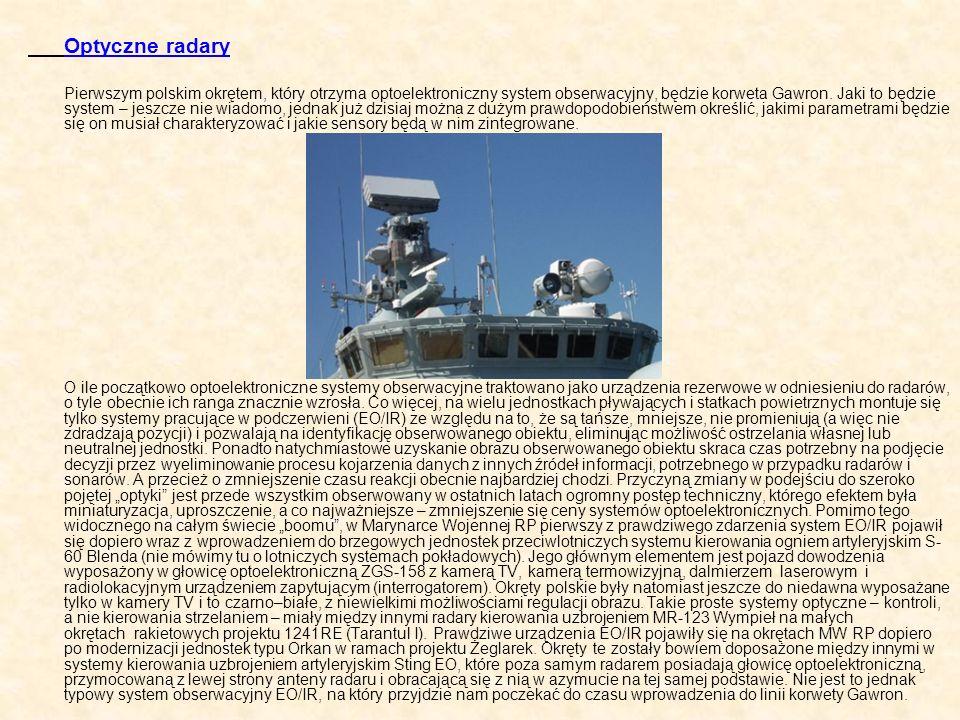 Optyczne radary