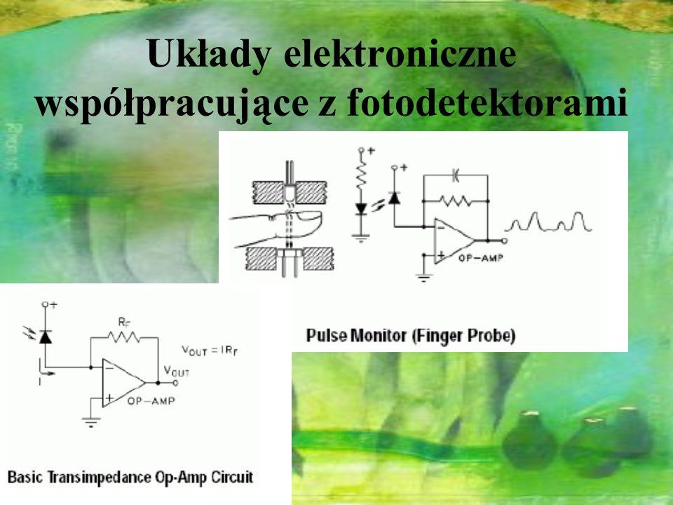 Układy elektroniczne współpracujące z fotodetektorami