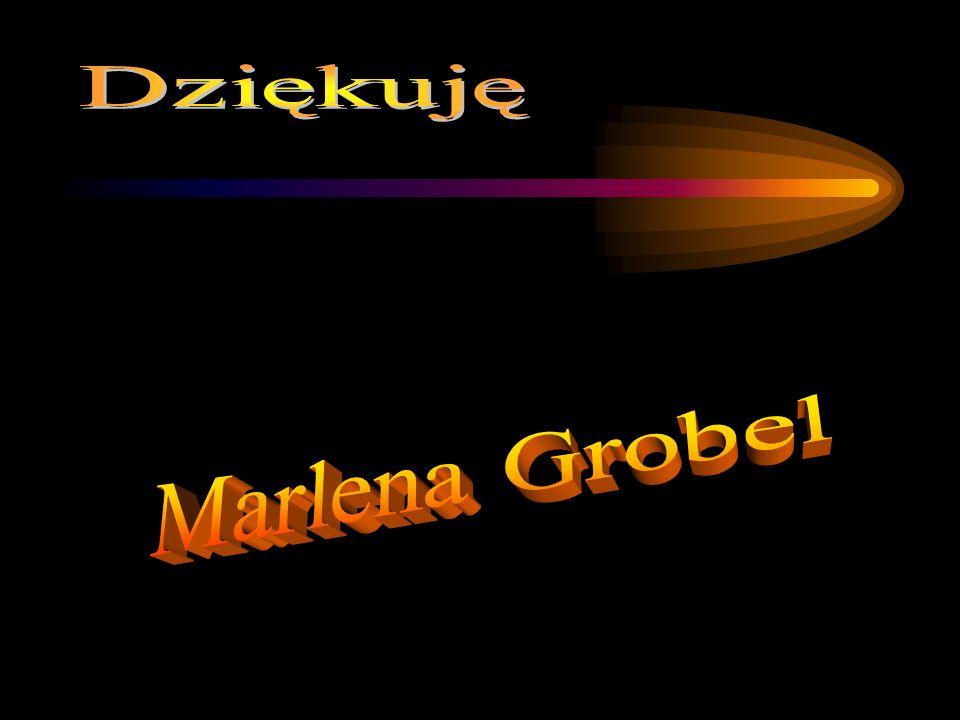 Dziękuję Marlena Grobel