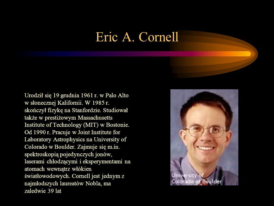 Eric A. Cornell