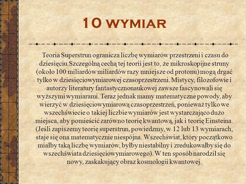10 wymiar