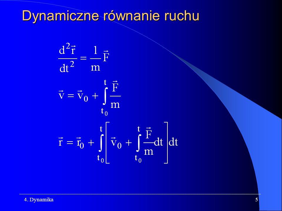 Dynamiczne równanie ruchu