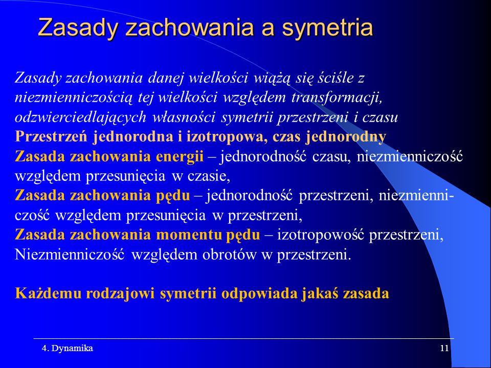 Zasady zachowania a symetria