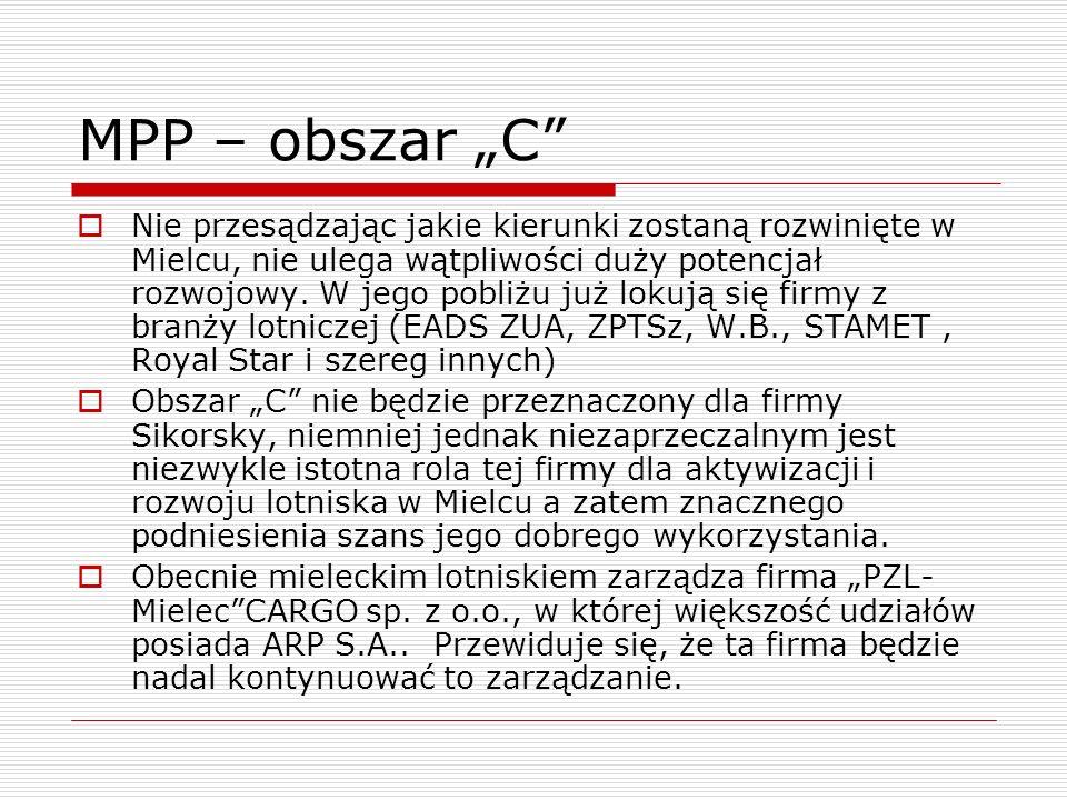 """MPP – obszar """"C"""
