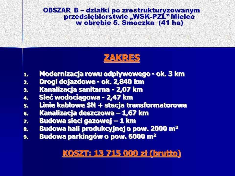 ZAKRES KOSZT: 13 715 000 zł (brutto)