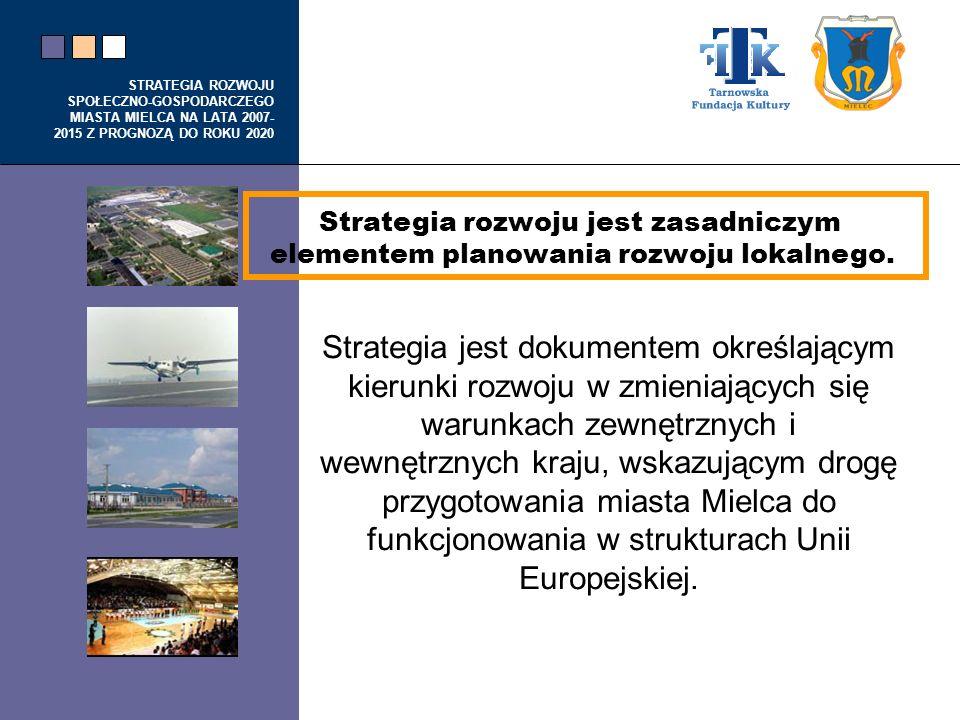 Strategia rozwoju jest zasadniczym