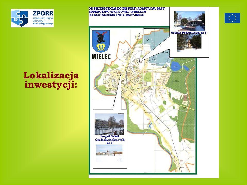 Lokalizacja inwestycji: