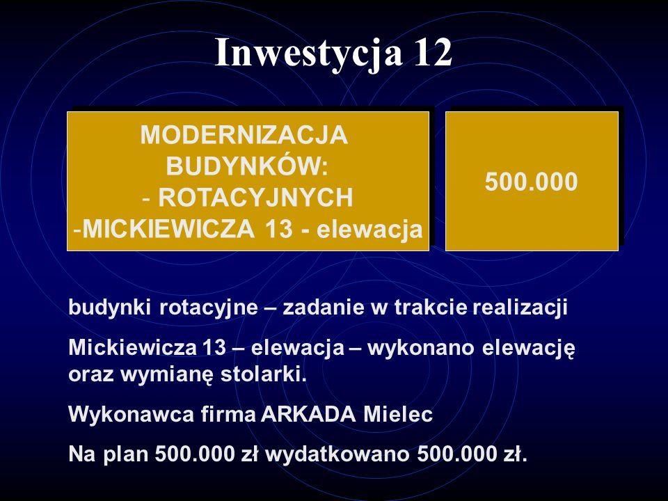 MICKIEWICZA 13 - elewacja