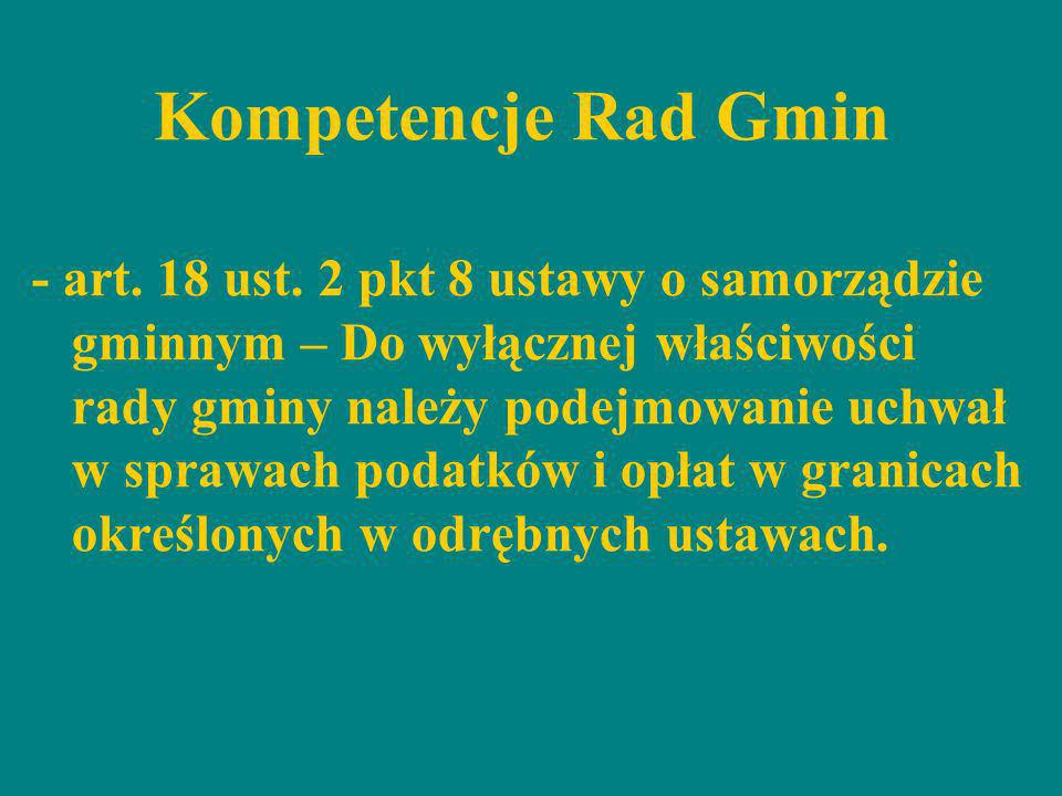 Kompetencje Rad Gmin
