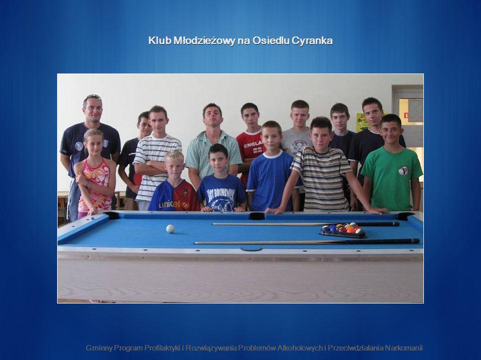 Klub Młodzieżowy na Osiedlu Cyranka