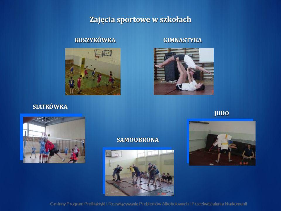 Zajęcia sportowe w szkołach