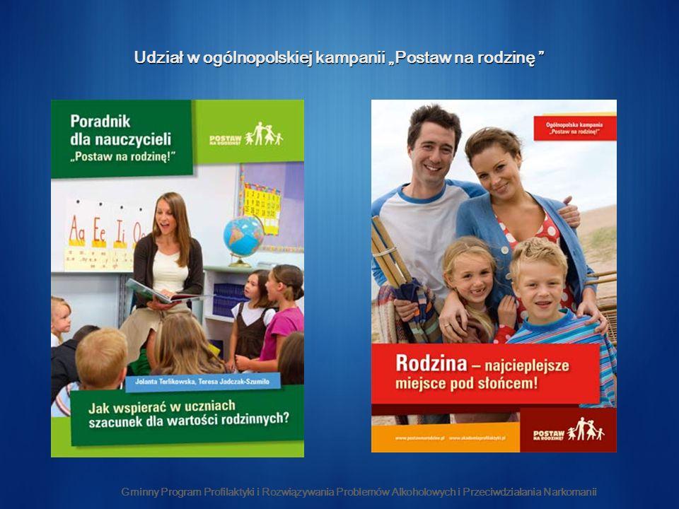 """Udział w ogólnopolskiej kampanii """"Postaw na rodzinę"""