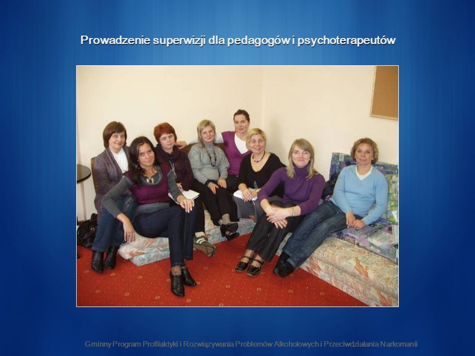 Prowadzenie superwizji dla pedagogów i psychoterapeutów
