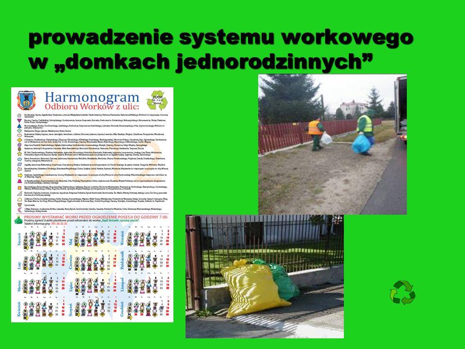 """prowadzenie systemu workowego w """"domkach jednorodzinnych"""
