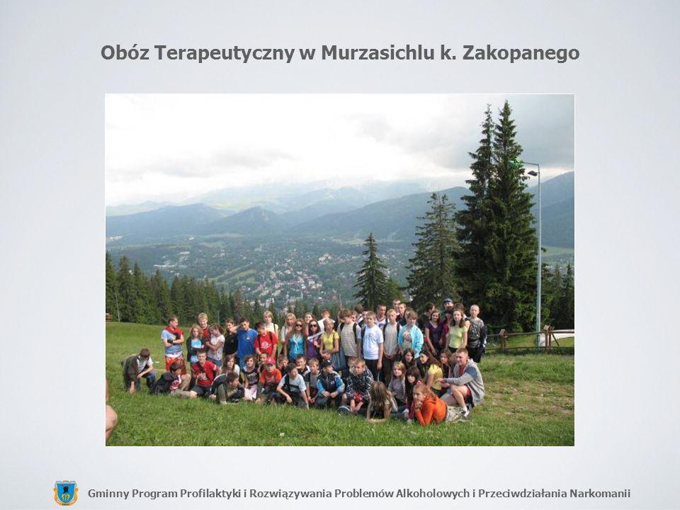 Obóz Terapeutyczny w Murzasichlu k. Zakopanego