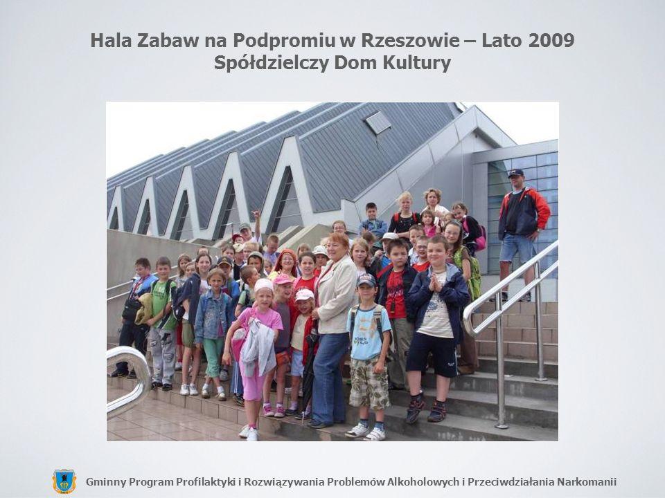 Hala Zabaw na Podpromiu w Rzeszowie – Lato 2009 Spółdzielczy Dom Kultury