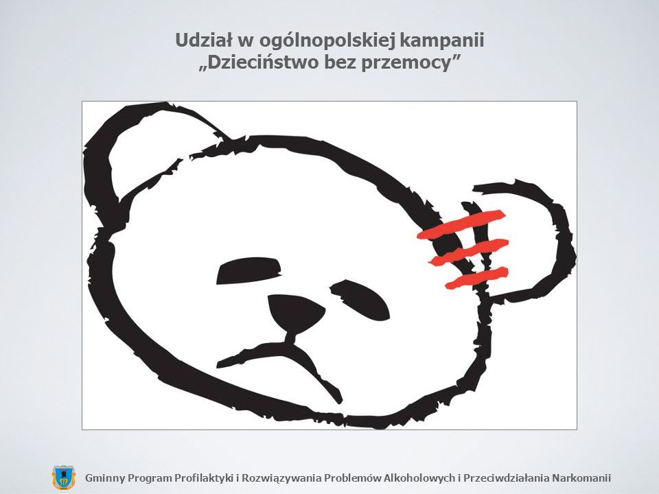 """Udział w ogólnopolskiej kampanii """"Dzieciństwo bez przemocy"""