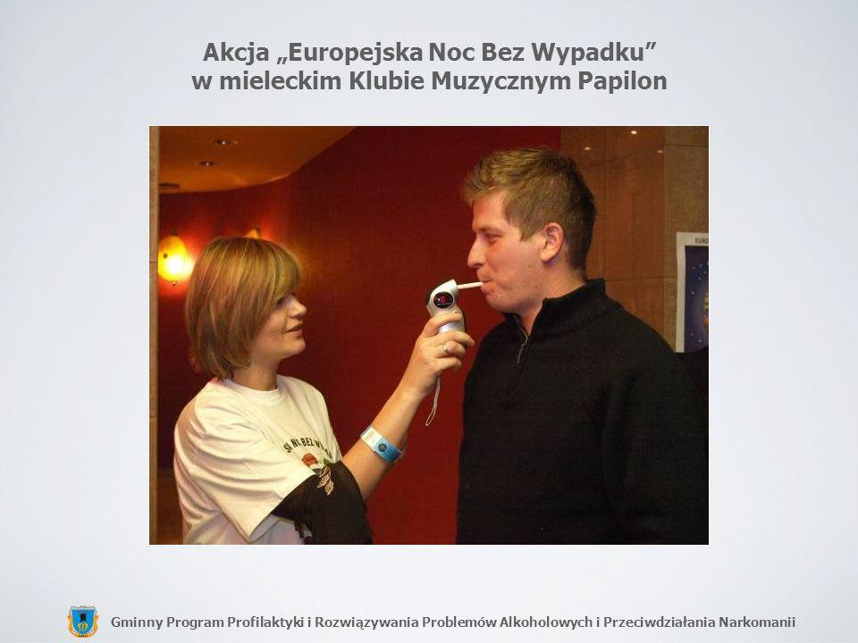 """Akcja """"Europejska Noc Bez Wypadku w mieleckim Klubie Muzycznym Papilon"""